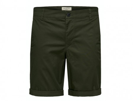 Selected Homme - Straight paris shorts / Deep depths