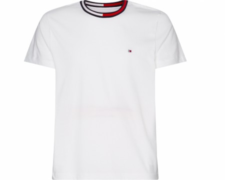 Tommy Hilfiger - Th cool flag collar / White