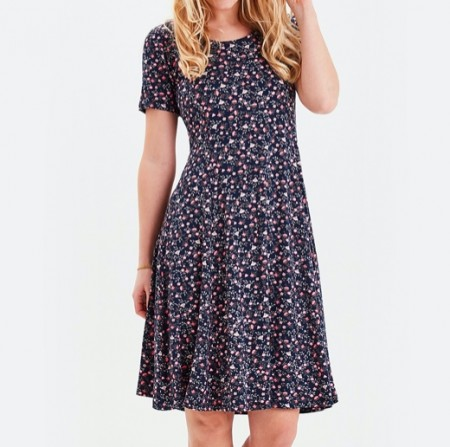 Fransa / Idotsa 2 Dress - Navy